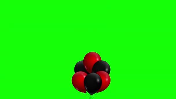 Fekete Péntek animáció. Léggömbök felhúzása banner eladó speciális akár 50 off. Árcédula kedvezményekért. Promóció szöveg különleges ajánlat fekete péntek reklám videó. Alfa Csatorna. 4K