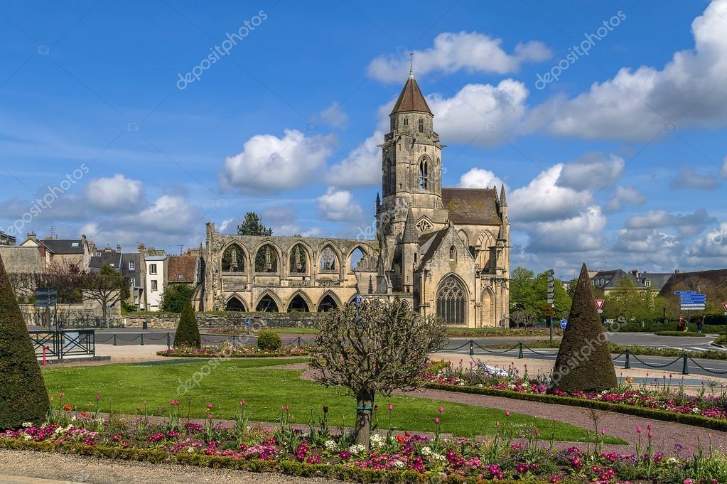 Kirche st etienne le vieux caen frankreich stockfoto - Chambre des metiers st etienne ...