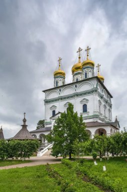 Assumption Cathedral in Joseph-Volokolamsk Monastery, Russia