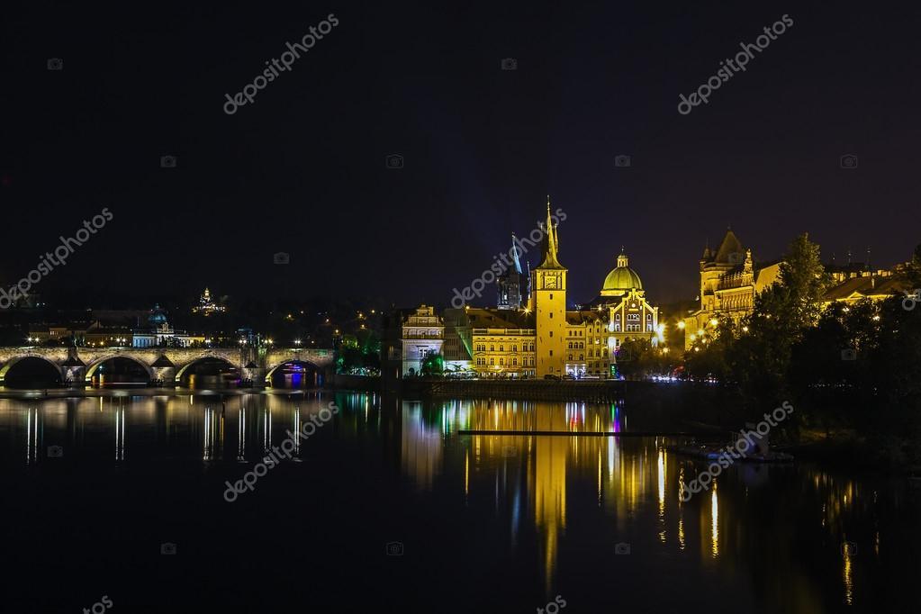 Фотообои view of Old Town Water Tower, Prague