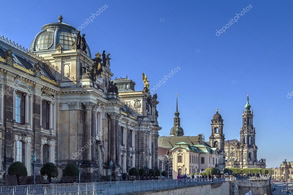 Bruhl Terrace Dresden Germany Stock Photo Borisb17