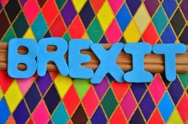 brexit word on abstract