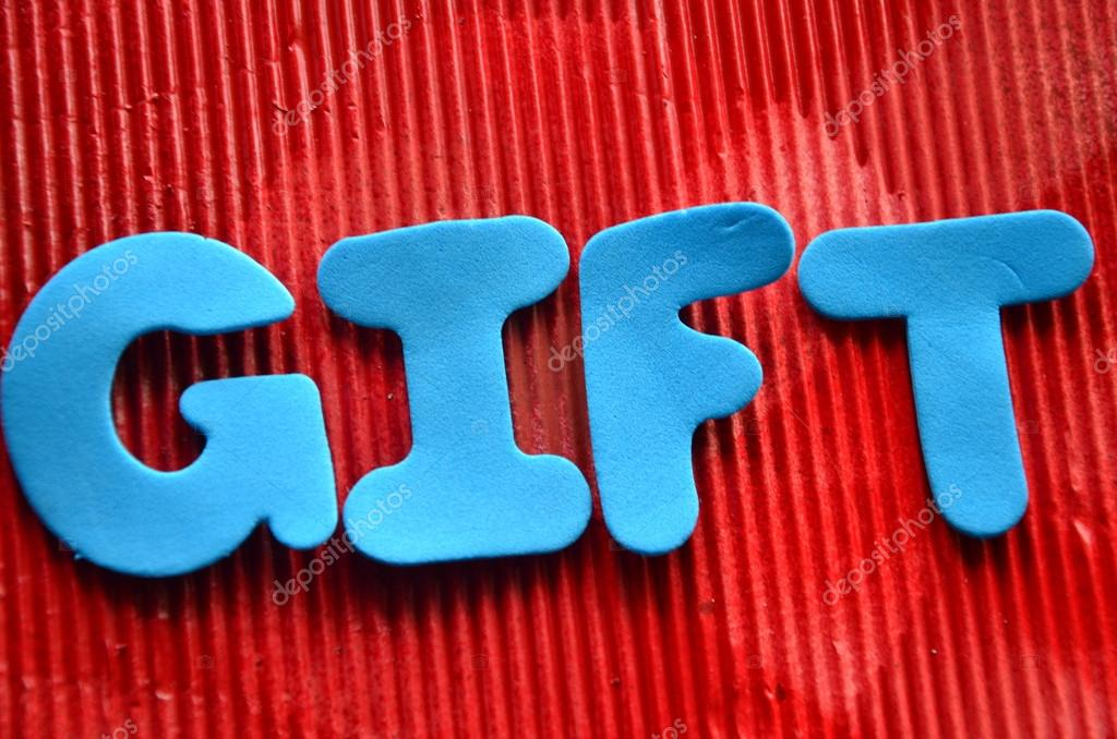 Gift word stock photo czany 59087547 gift word stock photo negle Image collections