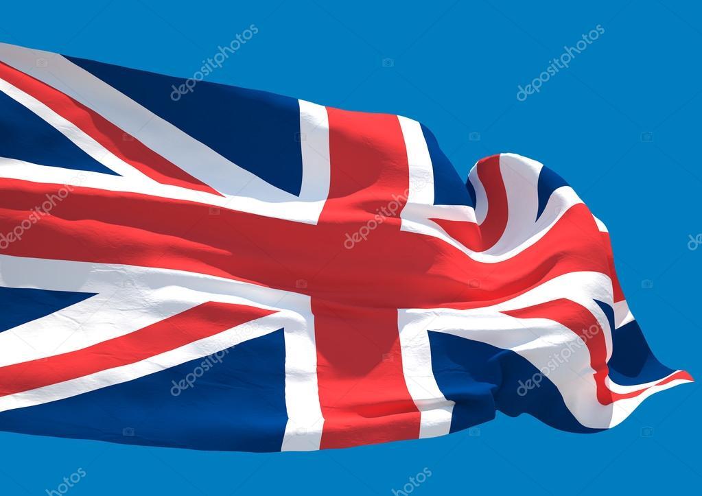Reino Unido onda bandeira Hd Inglaterra Reino Unido da Grã-Bretanha e  Irlanda do Norte — Foto de irgit aee1a8e6fb3e9