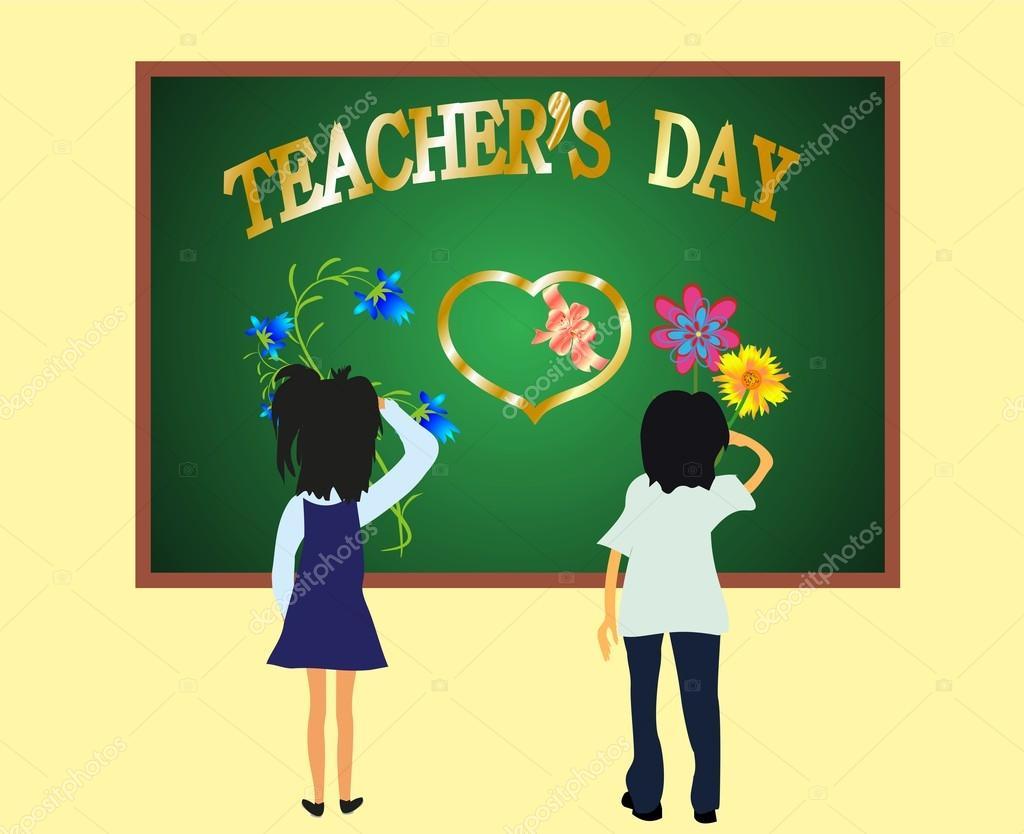 Day the teacher,