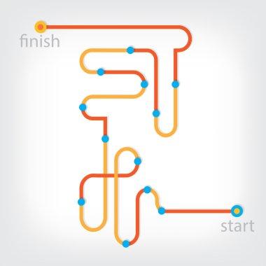 Start to Finish line