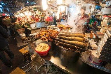 Gwangjang Traditional Market.