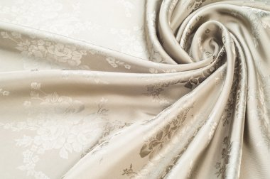 Fabric silk texture, painted with the colors of roses