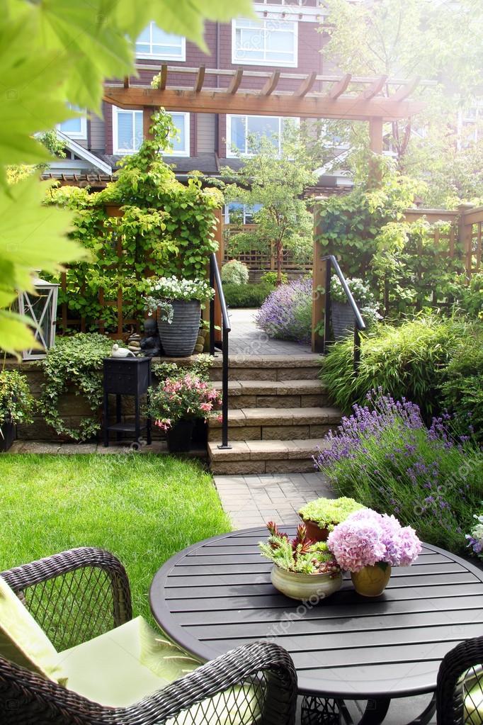 Small perennial garden