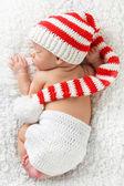 Fényképek karácsonyi újszülött