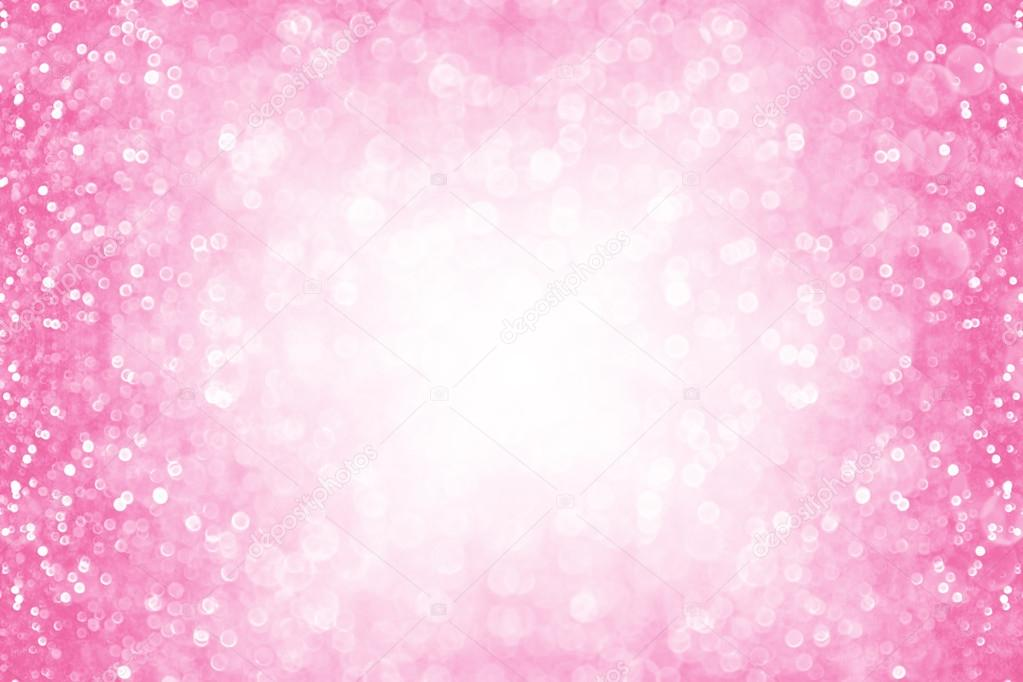 Pink Sparkle Border Background — Stock Photo © Steph ...