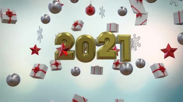 Christmas Backgrounds 2 Version Loop Background Pack