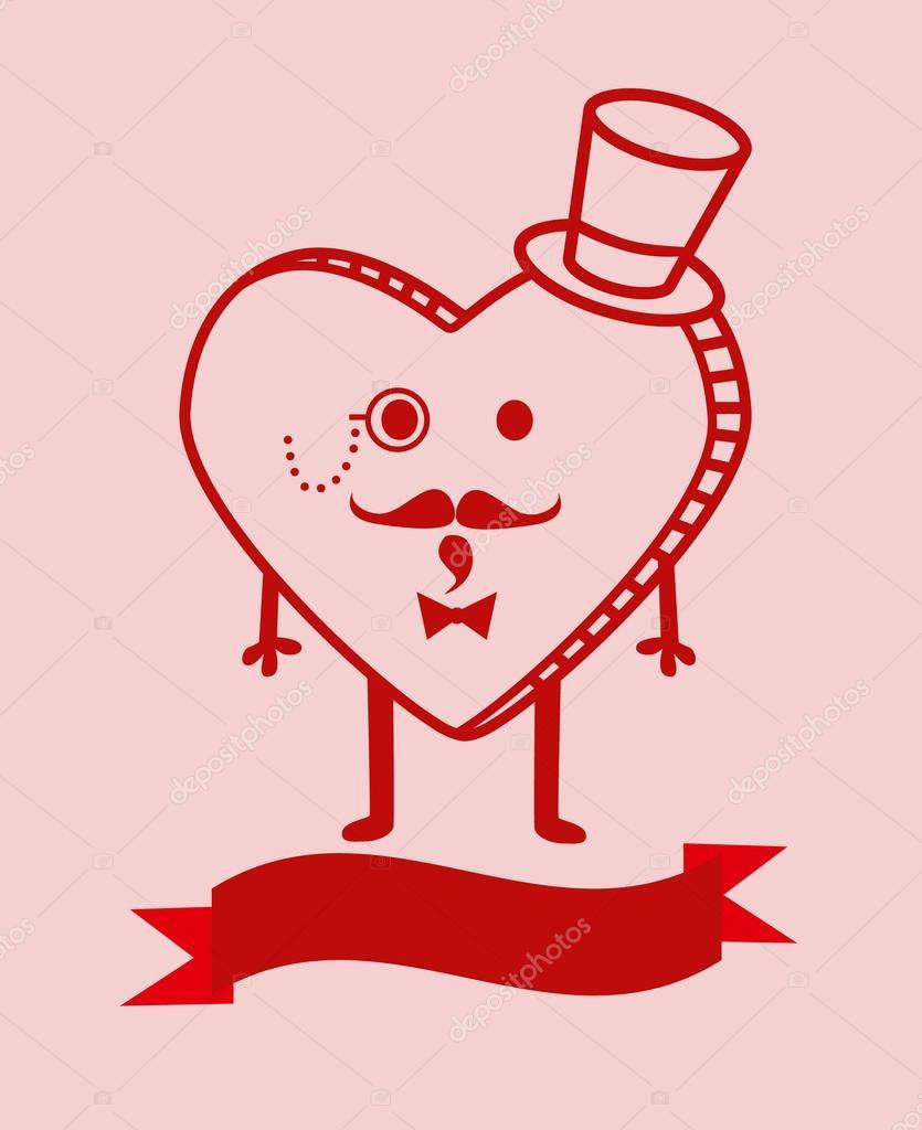 Dibujos Corazones Bonitos Fondo De Dibujos Animados Lindo Corazón