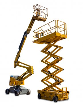 Scissor lift and articulated boom lift