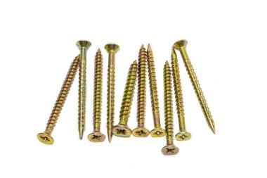 Several long wood screws