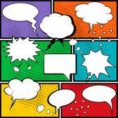 Photo Comic speech bubbles