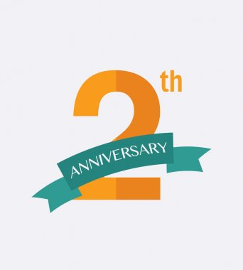 Two years Anniversary Icon