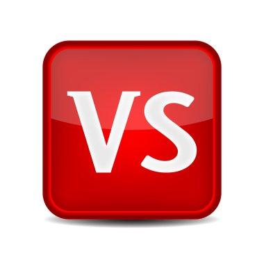 Versus Logo. VS Letters icon.