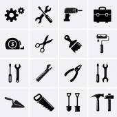 Fotografia icone di strumenti