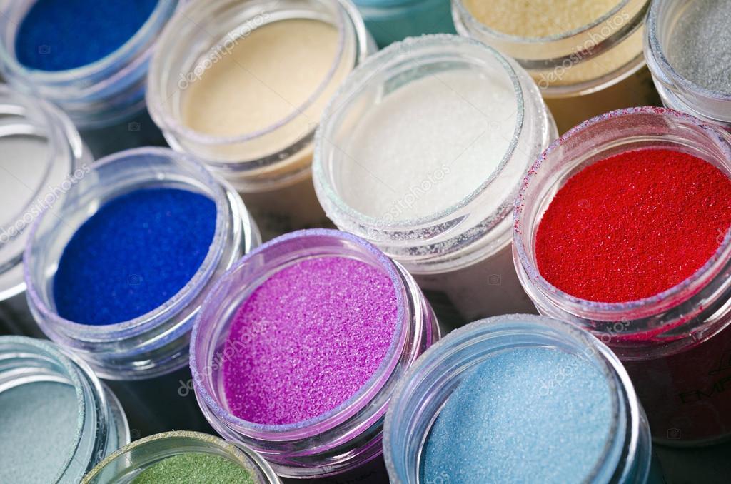 Peinture Multicolore Dans Des Pots Pour Le Maquillage Photographie Pproman C 77542680
