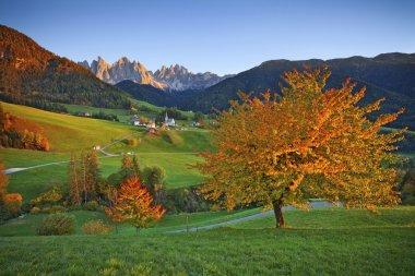Autumn in Alps.