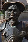 Fotografie Büste von Don Quijote
