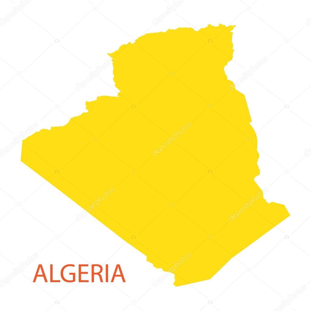 Yellow map of Algeria — Stock Vector © chrupka #64082261 on map of yemen, map of middle east, map of mali, map of syria, map of laos, map of algiers, map lebanon, map of sudan, map of gibraltar, map of bahrain, map of angola, map of iraq, map of europe, map of tunisia, map of switzerland, map of africa, map of central america, map of great britain, map of libya, map of morocco,