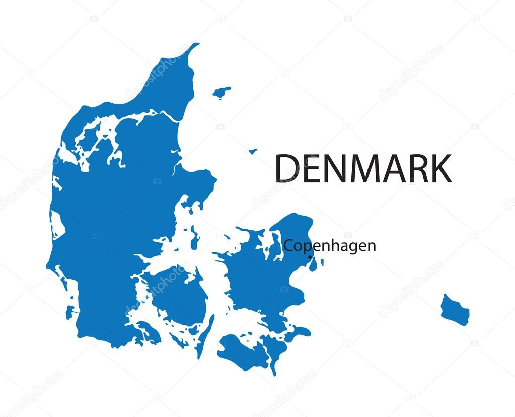 Copenhagen Denmark On World Map