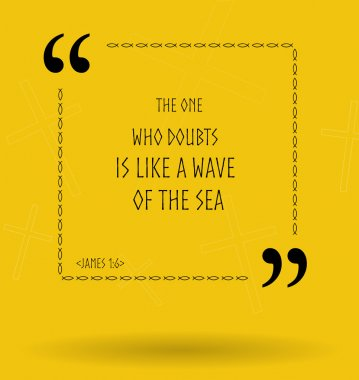 Bible quotes about doubts