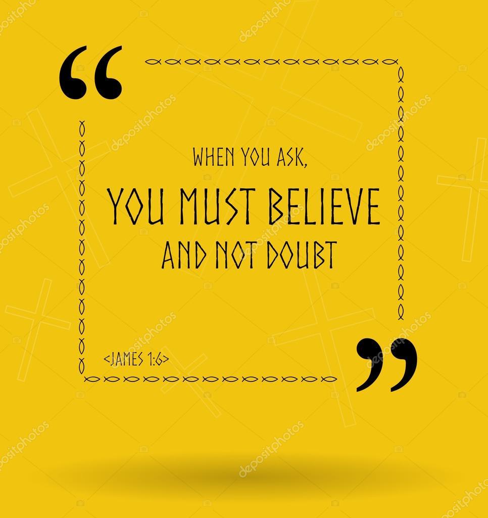 Biblijne Cytaty O Wierze Chrześcijańskiej Bez Wątpienia Zdjęcie