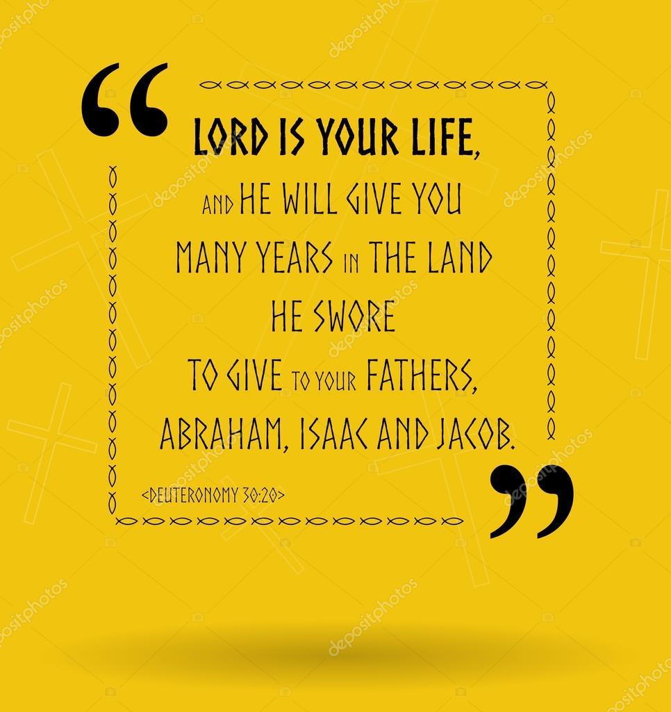 Cytaty Biblijne O Bogu Jako Naszego życia Zdjęcie Stockowe