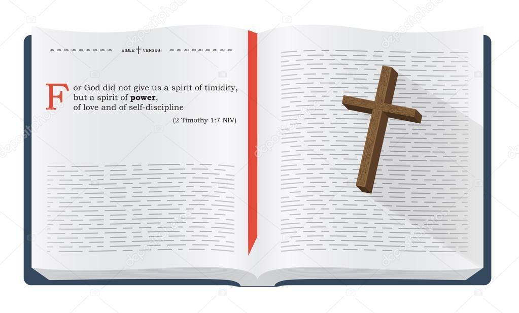 Bible verses for Bible study — Stock Photo © maxterdesign