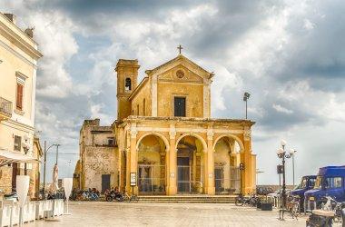The Madonna del Canneto sanctuary in Gallipoli, Italy