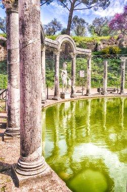 Greek Statue of Ares, inside Villa Adriana (Hadrian's Villa), Ti