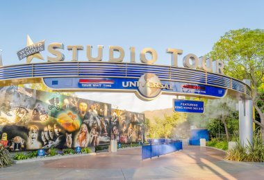 Entrance of The Studio Tour, popular attraction at The Universal