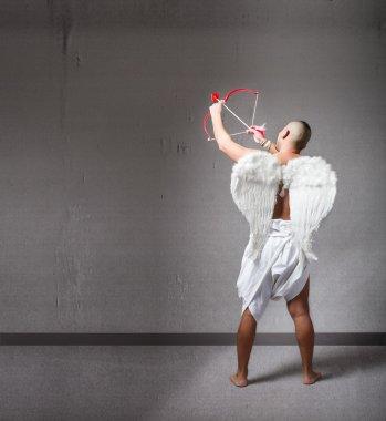 Crazy cupid in action