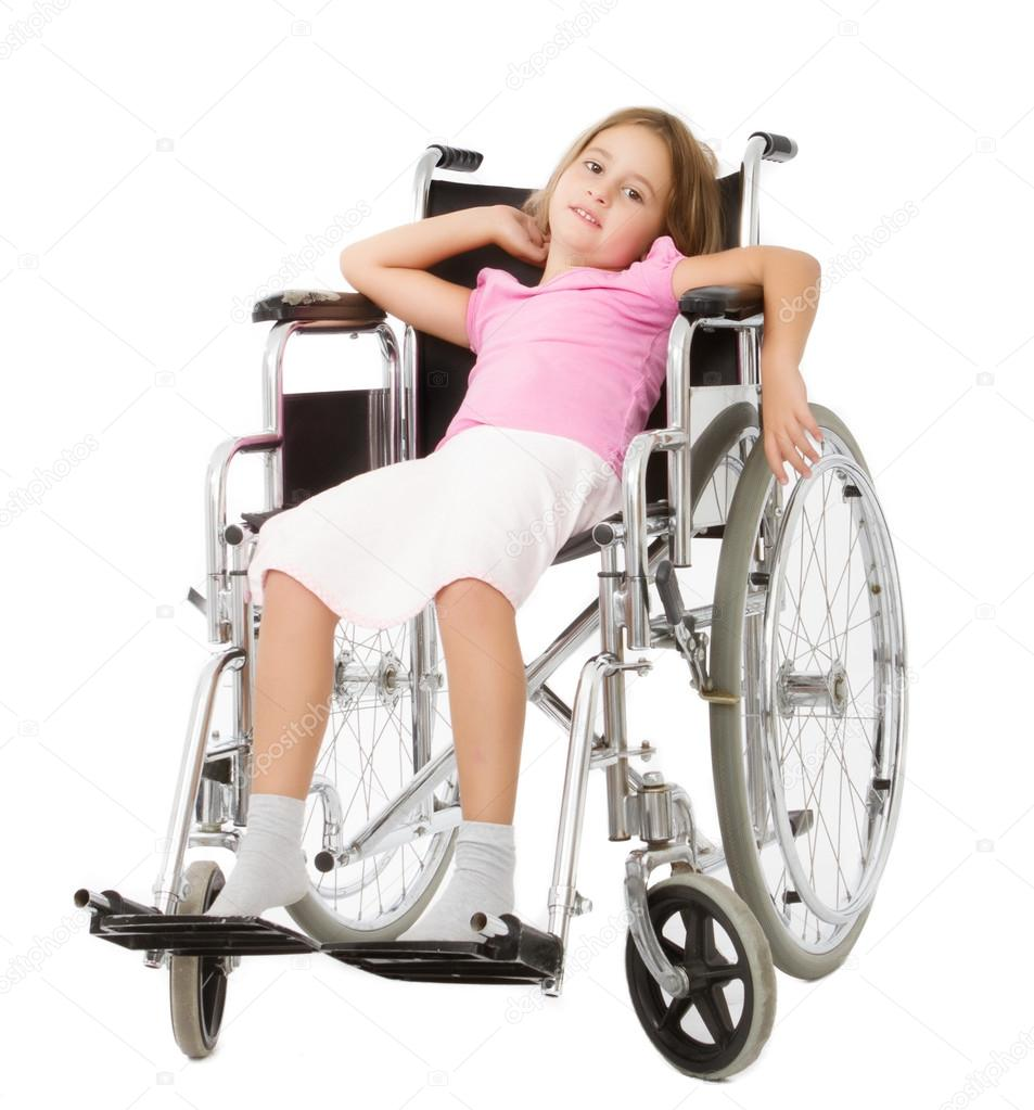 Sad Child In Wheelchair Images