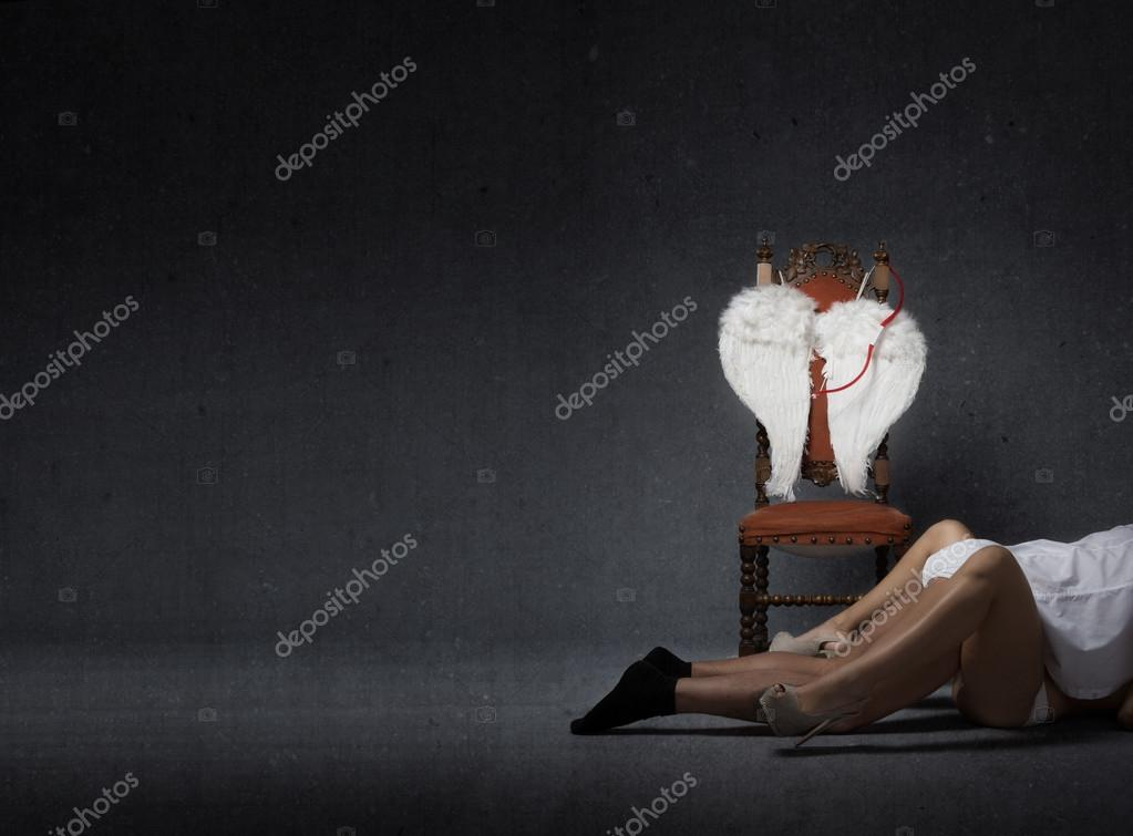 Valentine's day Cupid concept