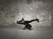 Žena break dance