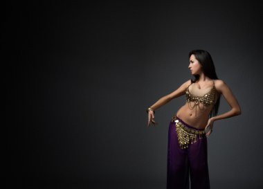 Beautiful woman dancer