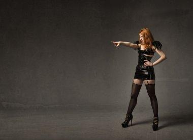 heavy metal woman emotion