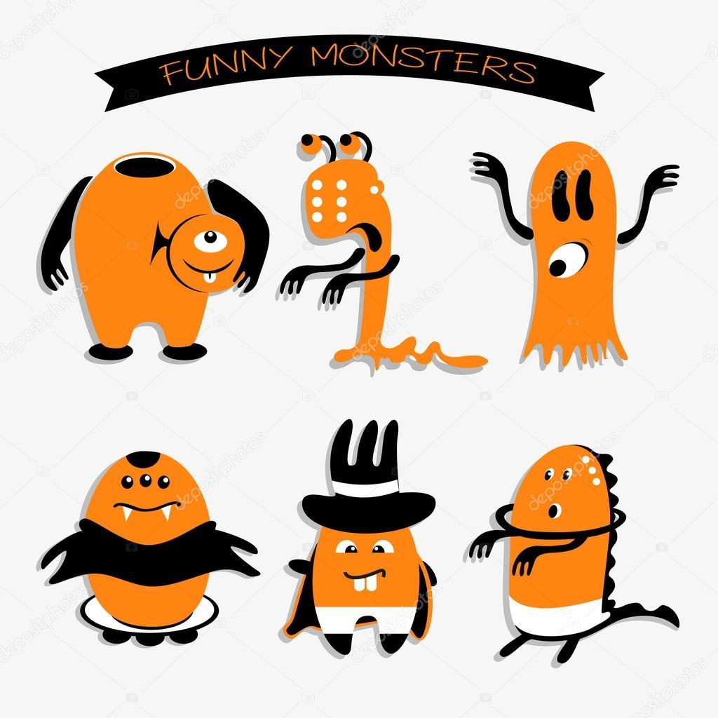 Dessin anim monstres rigolos pour des vacances de - Images de monstres rigolos ...