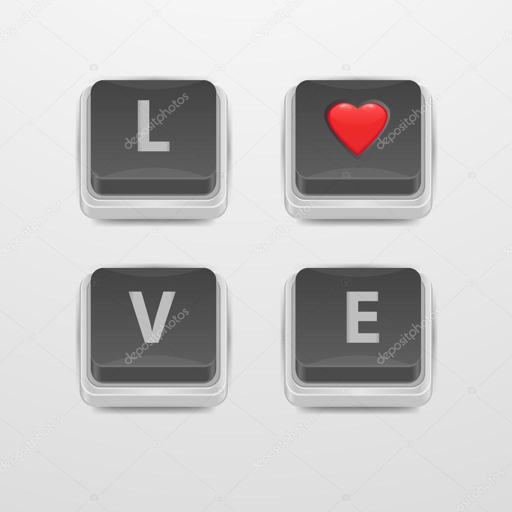 Button love amat, blind girl xxx