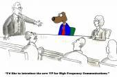 Vysoká frekvence komunikace