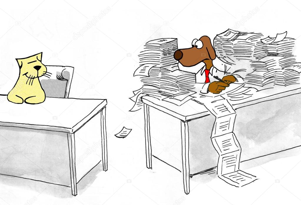 temps de travail administration - Page 2 Depositphotos_112703322-stock-photo-jealous-coworker-finished-work
