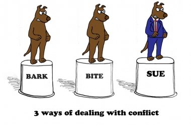 3 ways of dealing with conflict