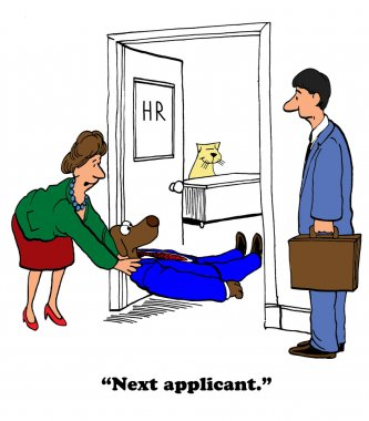 An Unsuccessful Job Interview