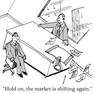 The market is shifting