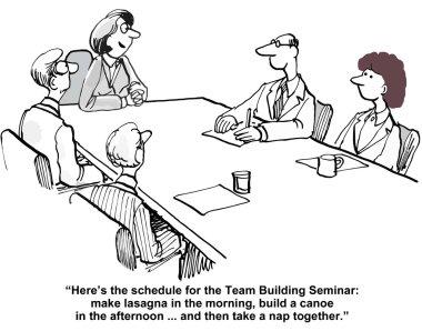 Team building seminar