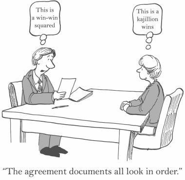 Win agreement